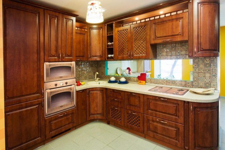 Пример изготовленной кухни 8